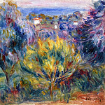 Landscape with a View of the Sea, Pierre-Auguste Renoir