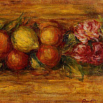 Garland of Fruit and Flowers - 1915, Pierre-Auguste Renoir