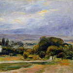The Path - 1895, Pierre-Auguste Renoir