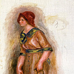 Пьер Огюст Ренуар - Woman with Bag - 1906