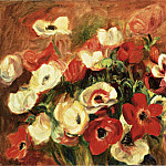 Spray of Anemones, Pierre-Auguste Renoir