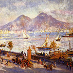 Mount Vesuvius in the Morning - 1881, Pierre-Auguste Renoir