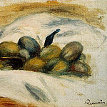 Pierre-Auguste Renoir - Still Life - Almonds and Walnuts - 1905