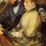 In the Loge - 1874, Pierre-Auguste Renoir