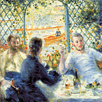 The Canoeists Luncheon - 1879 - 1880, Pierre-Auguste Renoir