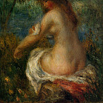 Bather – 1905, Pierre-Auguste Renoir