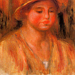 Portrait of a Woman - 1912 - 1915, Pierre-Auguste Renoir