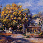 Houses at Cagnes – 1905, Pierre-Auguste Renoir