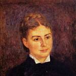 Madame Paul Berard – 1879, Пьер Огюст Ренуар