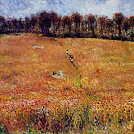 Path through the High Grass - 1876, Pierre-Auguste Renoir