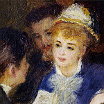 Pierre-Auguste Renoir - Reading the Part - 1874 - 1876