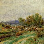View of La Sayne - 1890, Pierre-Auguste Renoir