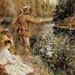 The Fisherman - 1874, Pierre-Auguste Renoir