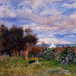 The Bay of Algiers – 1881, Pierre-Auguste Renoir