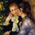 Confidences - 1878, Pierre-Auguste Renoir