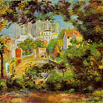 Pierre-Auguste Renoir - The Building of Sacred Heart - 1900