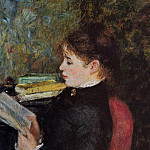 The Reader – 1877, Pierre-Auguste Renoir