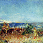 Arabs by the Sea, Pierre-Auguste Renoir