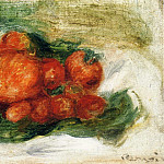 Still Life with Strawberries, Pierre-Auguste Renoir