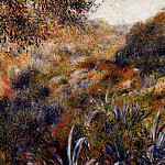 Pierre-Auguste Renoir - Algerian Landscape (also known as The Ravine of the Wild Women) -