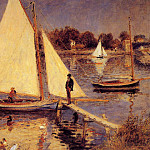 Sailboats at Argenteuil - 1874, Pierre-Auguste Renoir