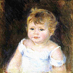 Portrait of an Infant - 1881, Pierre-Auguste Renoir