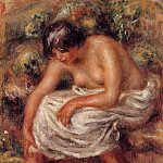 Bathing - 1915, Pierre-Auguste Renoir
