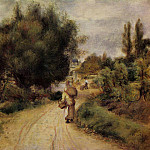On the Banks of the River - 1875, Pierre-Auguste Renoir