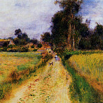 The Farm - 1878, Pierre-Auguste Renoir