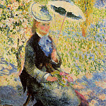The Umbrella - 1878, Pierre-Auguste Renoir