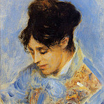 Pierre-Auguste Renoir - Portrait of Madame Claude Monet - 1872