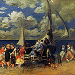 Пьер Огюст Ренуар - The Return of the Boating Party - 1862