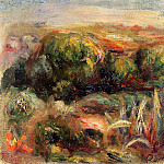 Пьер Огюст Ренуар - Landscape near Cagnes