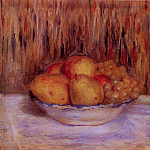 Still Life with Pears and Grapes, Pierre-Auguste Renoir