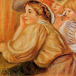 Coco and Two Servants - 1910, Pierre-Auguste Renoir