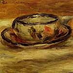 Cup, Lemon and Tomato - 1916, Pierre-Auguste Renoir