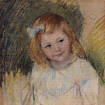 Sara Looking to the Right – 1901, Pierre-Auguste Renoir