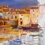 The Port of Martigues - 1888, Pierre-Auguste Renoir