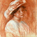 Pierre-Auguste Renoir - Head of a Girl