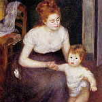 The First Step - 1876, Pierre-Auguste Renoir