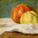 Still Life with Apples and Pomegranates - 1901, Pierre-Auguste Renoir