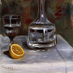 Still Life with Carafe - 1892, Pierre-Auguste Renoir
