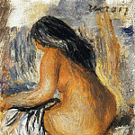 Pierre-Auguste Renoir - Bather from the Back