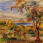 Landscape by the Sea - 1915, Pierre-Auguste Renoir