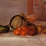 Still Life with Melon, Pierre-Auguste Renoir