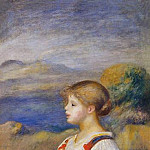 Pierre-Auguste Renoir - Girl with a Basket of Oranges - 1889