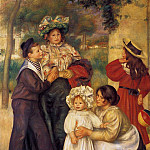 The Artists Family - 1896, Pierre-Auguste Renoir