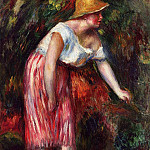 Woman in a Straw Hat, Pierre-Auguste Renoir