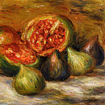 Still Life with Figs, Pierre-Auguste Renoir