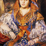 Madame Stora in Algerian Dress - 1870, Pierre-Auguste Renoir
